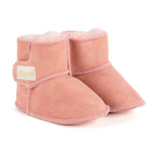 NEW SKEANIE Baby & Toddler Leather UGG Boots Pink. RRP $59.95