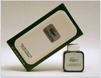 Lacoste Eau de toilette pour homme 4 ml 0.14 fl.oz. Miniature de parfum Ed.1984