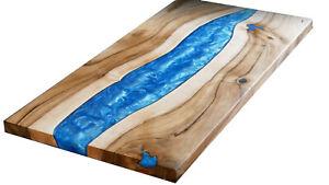 Blue Olive Custom Order Epoxy Table Furniture Resort,Dining Decorative Wooden