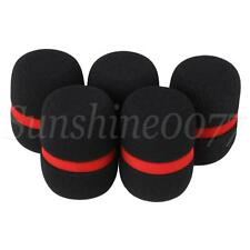 More details for 5x wind shield foam mic guard for handheld microphone ey-m08b 35mm dia