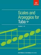 Scales and Arpeggios for Tuba, Bass Clef Grades 1-8 Tuba  Book Only 978185472853