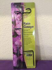 Roland Garden Rain Gauge With Stand New