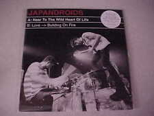 "Japandroids ""Near to the Wild Heart of Life /Love>Building On Fire"" UNOPENED 7"""