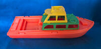 Vintage Amloid New Jersey Plastic Toy Boat