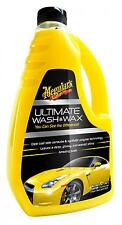 Meguiar's Ultimate WASH and WAX cire shampoing protecteur lavage auto Meguiars