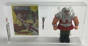MOTU Vintage Loose Ram Man with Comic Series 2 Taiwan Mattel 1983 AFA UKG 80%