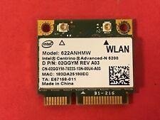 Genuine Intel Centrino Advanced-N 6200 622ANHMW Wireless WiFi WLAN Card 02GGYM