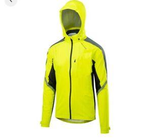Altura Nightvision Women's Cyclone Cycling Jacket Coat High Hi Vis Viz Yellow