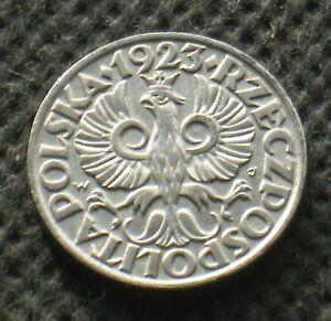 OLD COIN OF POLAND 20 GROSZY 1923 SECOND REPUBLIC (II RZECZPOSPOLITA POLSKA)