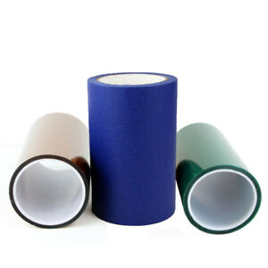 "Gizmo Dorks 3D Printer Build Plate Blue Tape Kapton Tape PET Tape 6.25"" x 100'"