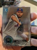2018 Bowman Chrome David Peterson (3x) Card Top 100 Lot New York Mets
