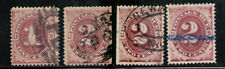 ESTADOS UNIDOS/USA 1884-1891 USED  Due Stamps lot