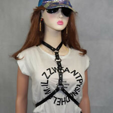 Punk Street Style Handmade Fashion Leather Harness Craft Belt Body Bondage Waist