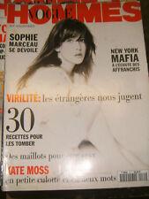 VOGUE hommes N° 171 1994 Sophie Marceau Mafia Maillot de Bain Mode Kate Moss