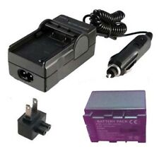 Battery&Charger for JVC Everio GZ-HM30AU GZHM30BU GZ-HM40BU GZ-HM440BU Camcorder