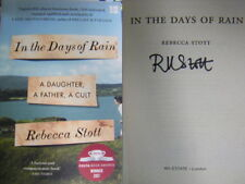 Signed Book In the Days of Rain by Rebecca Stott Paperback Costa Winner 2017