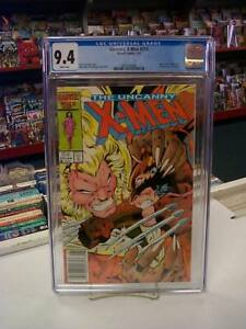 UNCANNY X-MEN #213 (Newsstand) CGC Graded 9.4! ~ White Pages