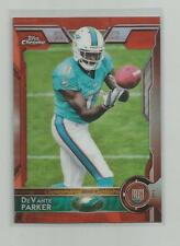 2015 Topps Chrome  DEVANTE PARKER  Orange Refractor