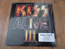 Kiss - Alive III 2 LP set White vinyl record sealed NEW RARE Limited OOP