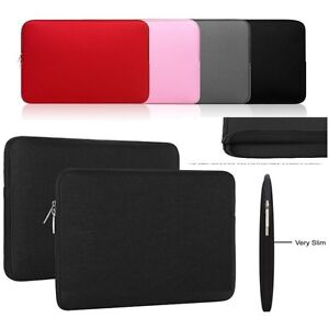 """Soft Neoprene Case Cover Bag Pouch Fits10""""/10.1""""inch Android &Windows Tablets"""