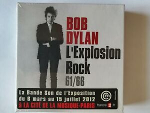 BOB DYLAN - L'Explosion Rock - French Box (7 CD + DVD)