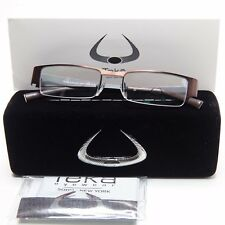 NEW Teka Eyewear Soho New York 202 Col. 3 BROWN EYEGLASSES FRAME 49-18-138 B25mm