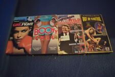 4 Vhs Jerry Springer Wild Booty Call Girlfight Super Ladies wrestling out of co