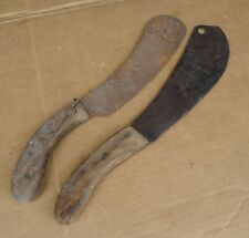 antique vintage harvest knives hand tools,antique Primitive barn farm rustic