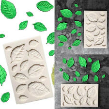 DTY Silicone Leaves Embellisment Fondant Mould Chocolate Cake Decoration Tool