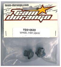 RC Team Durango TD310530 Wheel HEX 2pc DEX8T 1/8 Electric 4WD Off Road Truggy