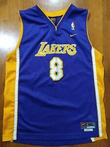 Vintage Kobe Bryant #8 Los Angeles Lakers NBA Basketball Jersey Size XL