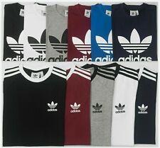 New Adidas Originals t shirt Men's California Trefoil Crew Neck Short Sleeve