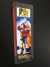 BACK TO THE FUTURE 2 Movie Film Cell Bookmark - complements movie dvd poster