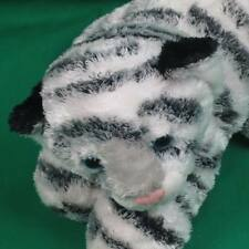 HANDMADE AURORA ALBINO WHITE TIGER CUB PLUSH BLUE EYES LIFELIKE FLOPPY TOY CUB
