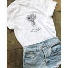 Summer Grow Through What You Go Through T-shirt Women Inspired Slogan Tees Tops