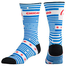 NIKE Hyper Local Cushioned Basketball Crew Socks sz S Small (3Y-5Y) Chicago