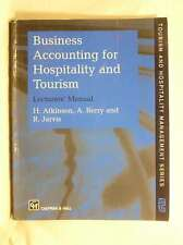 Business Accounting For Hospitality & Tourism Lecturer's Manual, H. Atkinson A.