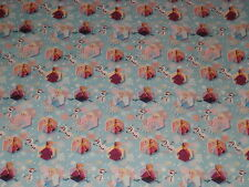 FROZEN ANNA ELSA OLAF GIFT WRAP WRAPPING PAPER ROLL CHRISTMAS HOLIDAY 60 SQ. FT