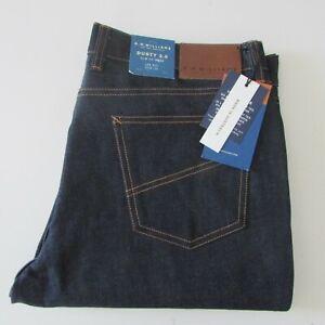 R.M Williams Dusty Jeans Sz W30 L32 Slim Dark Blue Denim NEW Australia RRP $249