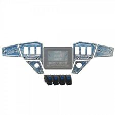 RZR Dash Panel Digital GPS 6 piece with switches Dash plates are CNC milled