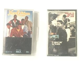 New Edition New Kids On The Block Hanging Tough Cassette Lot Boy Bands