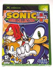 XBOX - SONIC MEGA COLLECTION PLUS! BRAND NEW/SEALED! SEGA! ITALY VER.