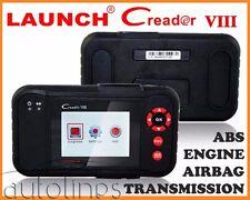 Original LAUNCH X431 CREADER VIII Diagnostics Scanner Tool CRP123 VII+ CResetter