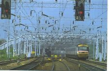 Inter City 125 High Speed Train Crewe 1990s postcard