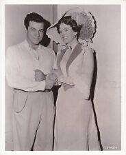 MARIO LANZA JARMILA NOVOTNA Original CANDID Vintage THE GREAT CARUSO MGM Photo