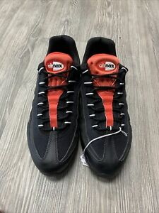 """Nike Air Max 95 Essential """"Challenge Red"""" 749766-016 Men Size 10"""