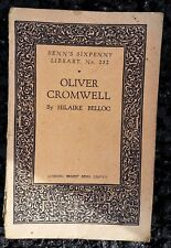 Vintage Book - Benn's Sixpenny Library # 252 Oliver Cromwell by Hilaire Belloc