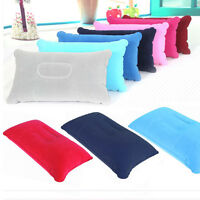 Inflatable Pillow Camping Car Flight Travel Nap Head Rest Air Cushion Neck New