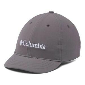 Columbia Youth Adjustable Ball Cap Gray White Kids
