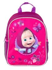 "Average Preschool Backpack Masha and the Bear 11"" Bag Accessories Kindergarten"